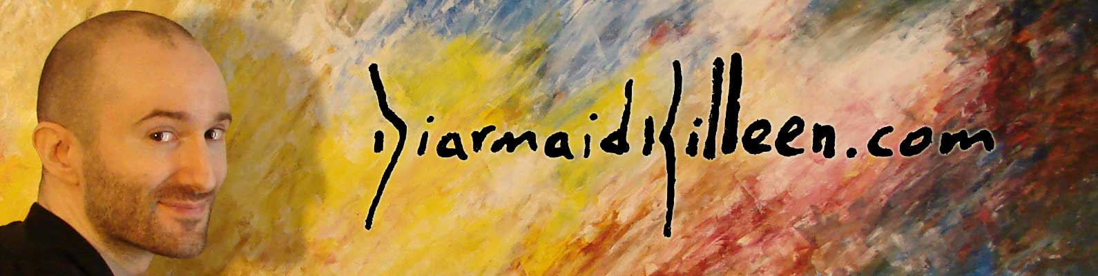 Welcome to DiarmaidKilleen.com, the official hub for the art of Diarmaid Killeen.